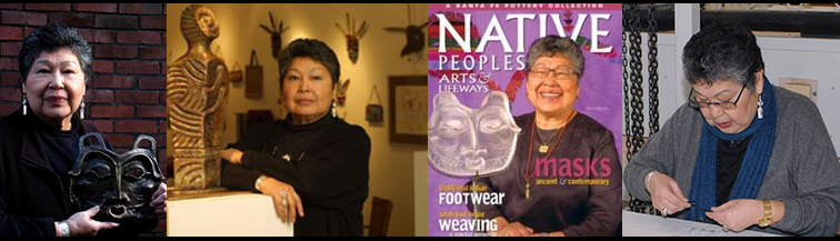 Lillian Pitt, a Pacific Northwest Native American artist, was born