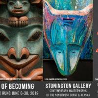 Masks: The Art of Becoming at Stonington Gallery