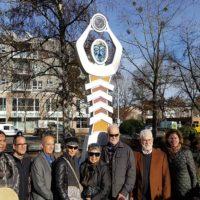Oregon Bottle Bill Commemorative Sculpture commissioned by the Oregon Environmental Council